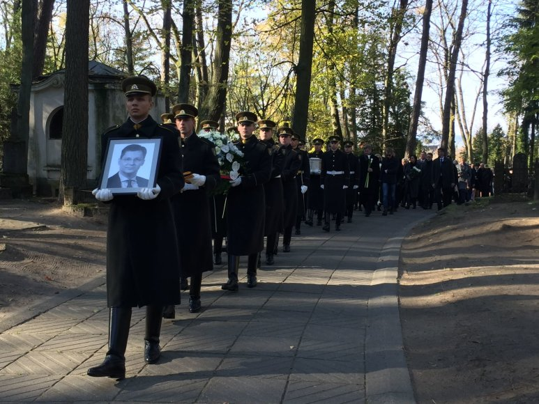 Irmanto Gelūno / 15min nuotr./Juro Poželos laidotuvės