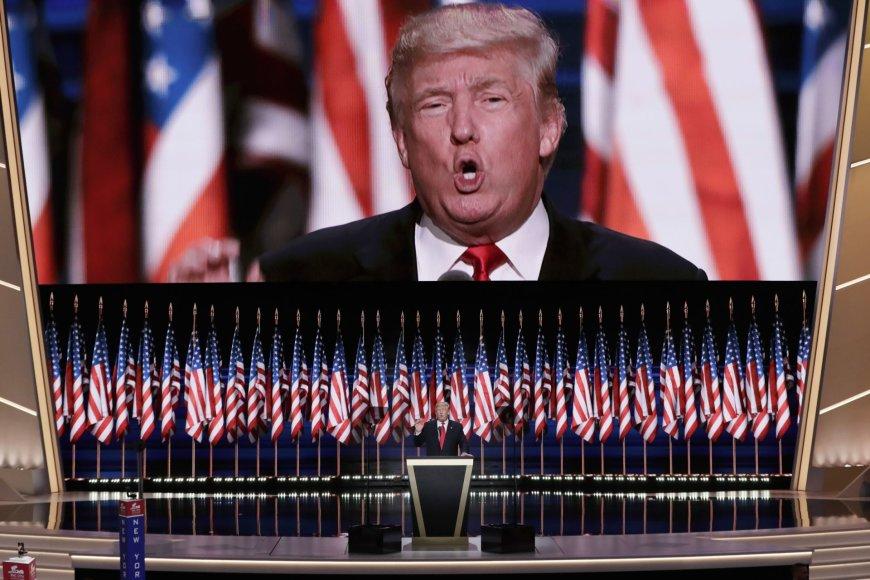 """""""Scanpix""""/AP nuotr./Paskutinė JAV respublikonų suvažiavimo Klivlende diena"""