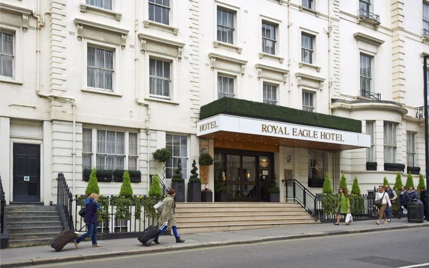 """Royal Eagle"" nuotr. /""Royal Eagle"" viešbutis Londone"