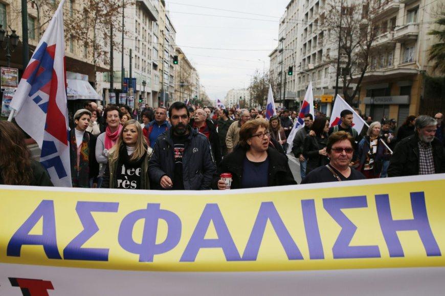 """""""Scanpix""""/AP nuotr./Streikas Graikijoje"""