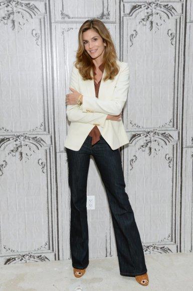 """Scanpix""/AP nuotr./Supermodelio Cindy Crawford karjeros akimirkos"
