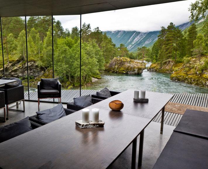 "Vida Press nuotr./""Juvet Landscape"" viešbutis Norvegijoje"
