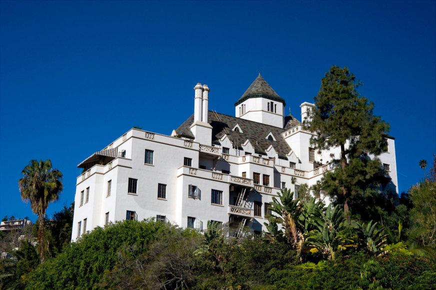 "Vida Press nuotr./""Chateau Marmont"" viešbutis Kalifornijoje"
