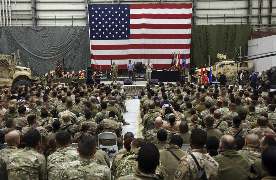 """Scanpix""/AP nuotr./Bagramo karinė JAV bazė Afganistane"