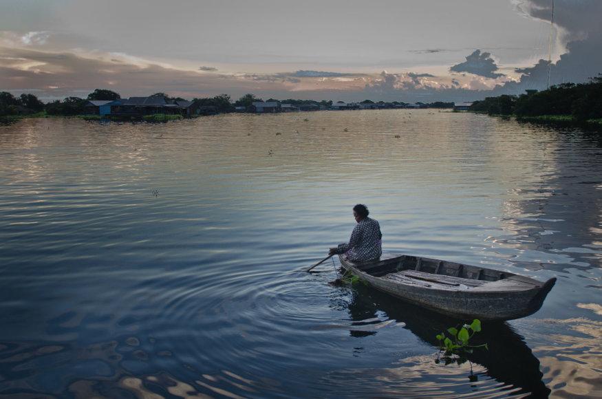 Vida Press nuotr./Tonlesapo ežeras