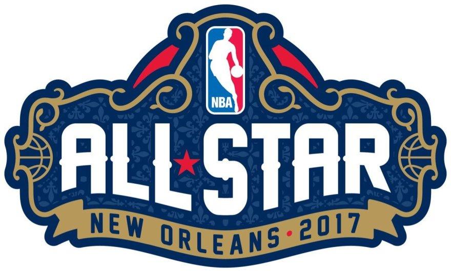 NBA Visų žvaigždžių rungtynių logotipas 2017