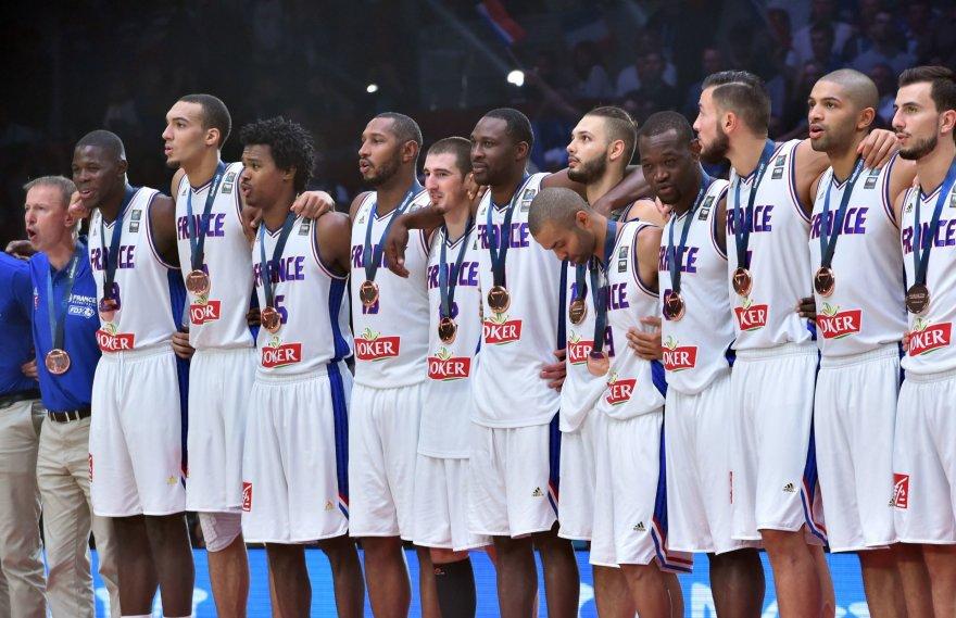 """""""Scanpix""""/AP nuotr./L.Westermanno neapakino bronzinis 2015-ųjų Europos čempionato medalis"""