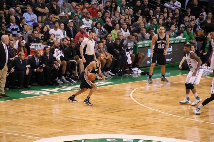 """""""Facebook"""" nuotr./Gediminas Petraitis NBA baigė antrąjį sezoną"""