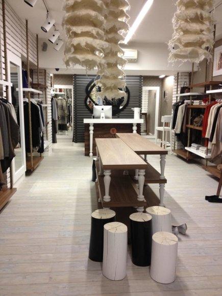 Facebook.com/Žutautams priklausiusi prabangių drabužių parduotuvė Londone