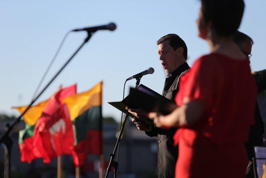 Tarptautinio vasaros festivalio atidarymas Chaimo Frenkelio viloje subūrė Šiaulių bendruomenę