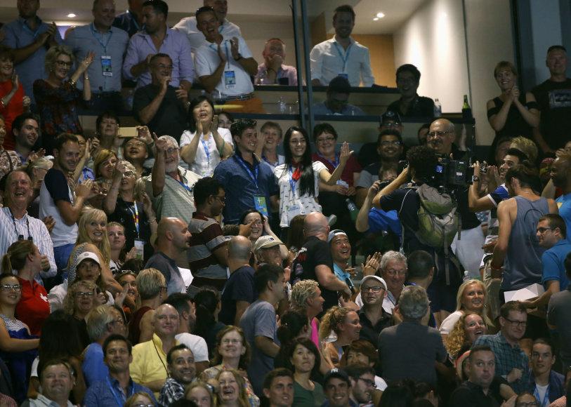 """Scanpix"" nuotr./Rogeris Federeris nugalėjo Rafaelį Nadalį ir tapo ""Australian Open"" čempionu"