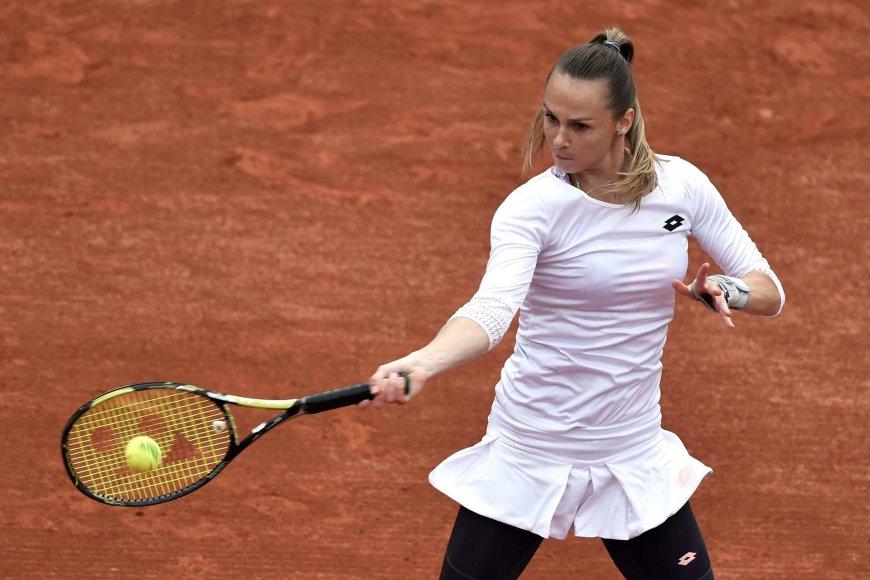"""""""Scanpix"""" nuotr./Serena Williams prieš Magdaleną Rybarikovą"""