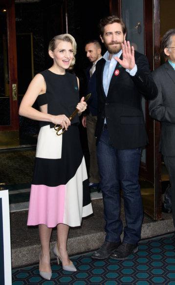 Vida press nuotr./Jake'as Gyllenhaalas atidarė naują teatrą Brodvėjuje