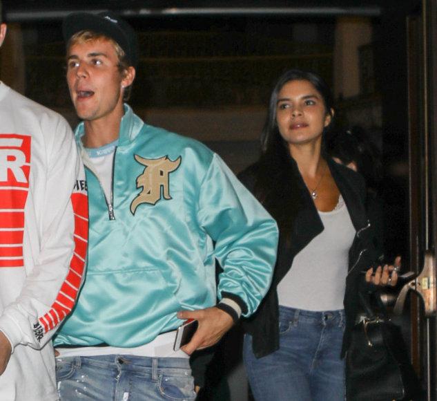 Vida Press nuotr./Justinas Bieberis ir Paola Paulin