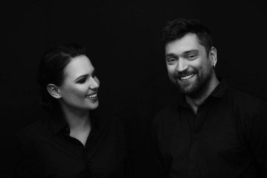 """""""Bravo Events"""" nuotr./Justė Arlauskaitė-Jazzu ir Leon Somov"""