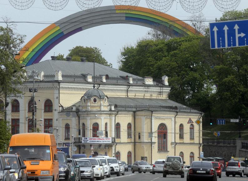 """""""Scanpix"""" nuotr./Kijevas prieš """"Euroviziją"""""""