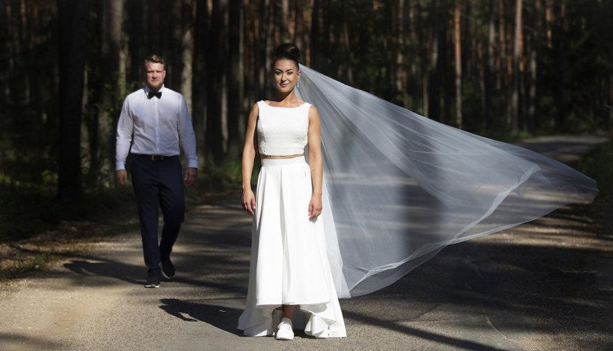 Vido Černiausko nuotr./Laura ir Šarūnas Aleksandravičiai