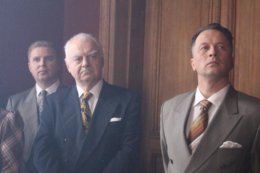 """Filmo kūrybinės komandos nuotr./""""Laisvės kaina. Partizanai"""" akimirka"""