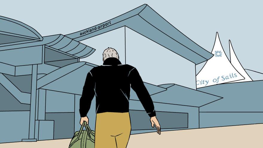 Skirmanto Malinausko iliustracija/Pirmąjį krovinį iš Oklando oro uosto pasiėmė Rupene'as Paerata Ernestas Karaka