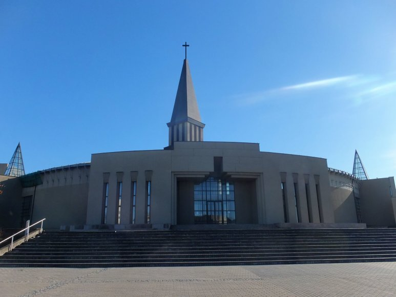 V.Sungailos nuotr./Mažeikių Šv. Pranciškaus Asyžiečio bažnyčia