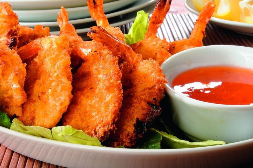 Kokosinės krevetės