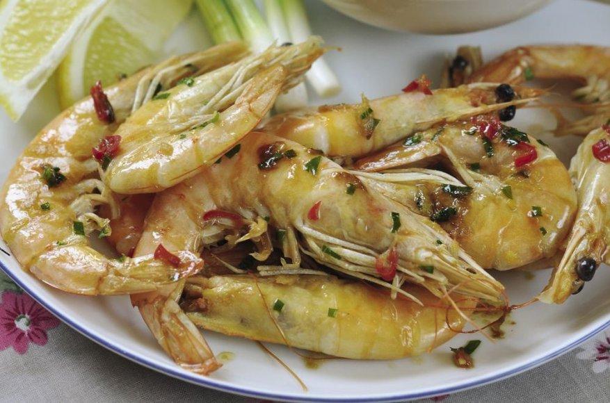 Aromatingos krevetės