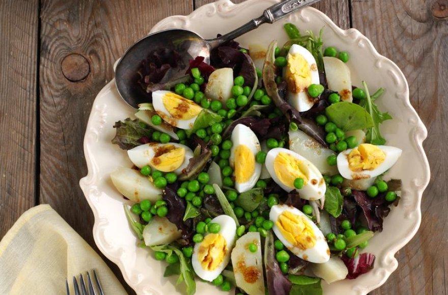 Sočiosios salotos pietums