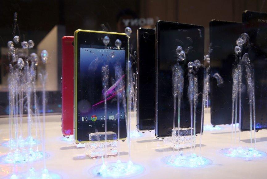 Išmanieji Sony Xperia telefonai CES parodoje