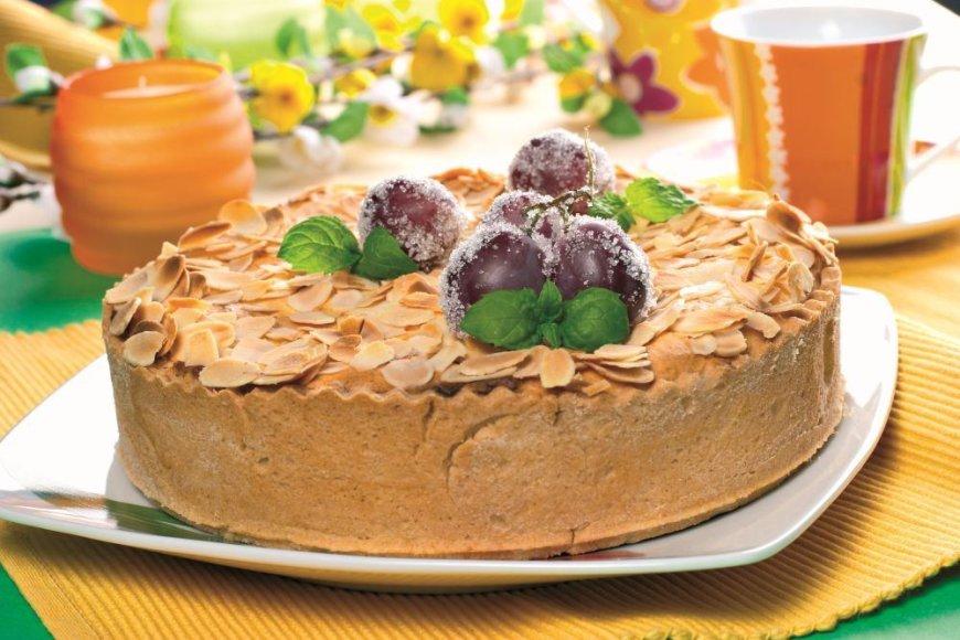 Sūrio pyragas su vynuogėmis