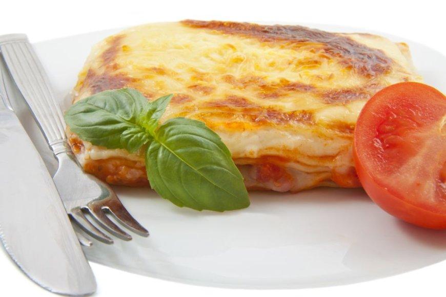 Lazanija su sūriais