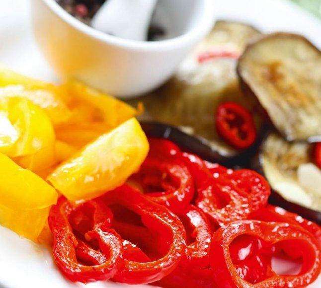 Baklažanai pomidorų padaže