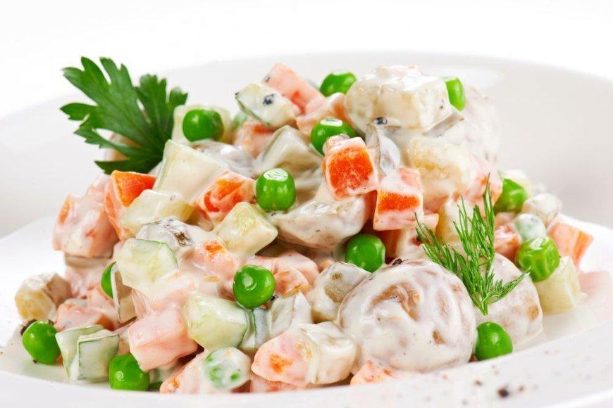 Pievagrybių salotos