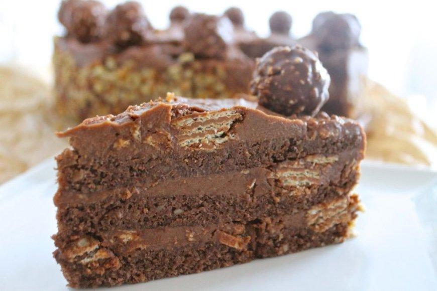 "Tortas ""Ferrero Rocher"""
