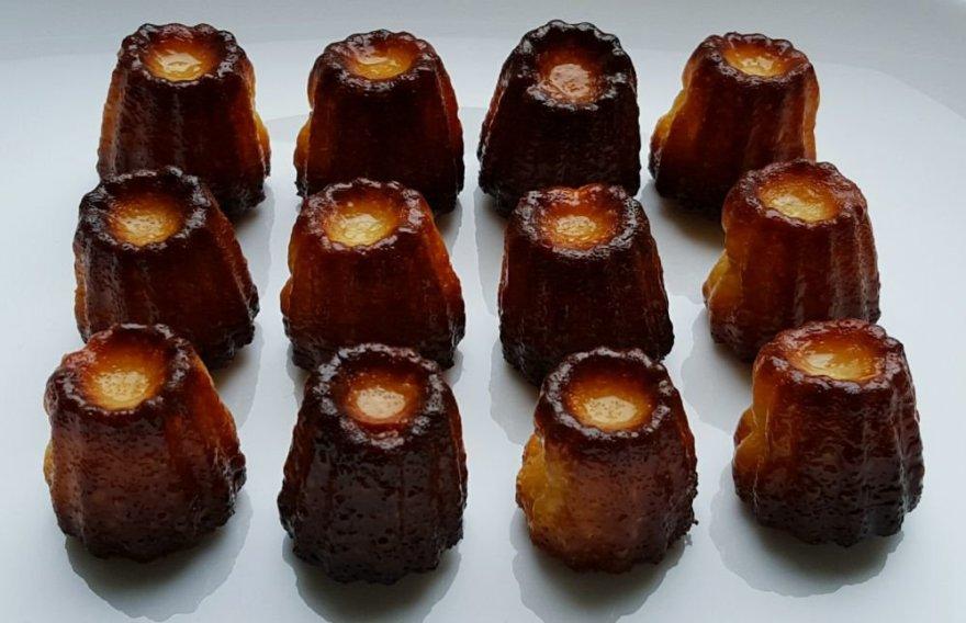 Cannelés de Bordeaux (pasakiški prancūziški pyragėliai Kanelės)