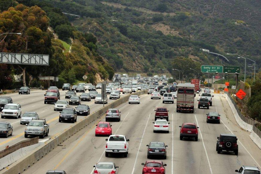 """""""Intersate 405"""" greitkelio atkarpa netoli Los Andželo"""