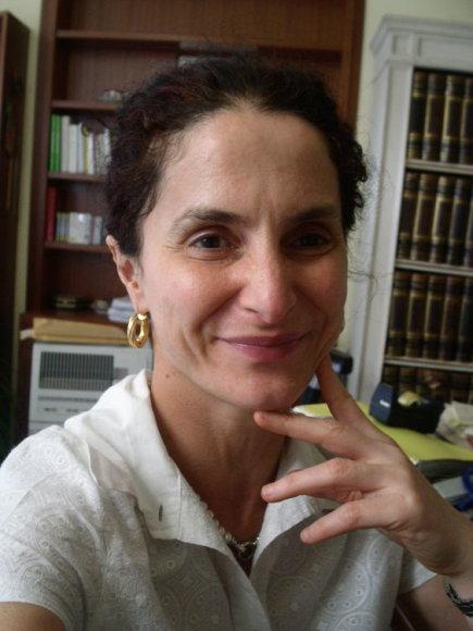 """Romos """"Luiss"""" universiteto Afrikos ir Azijos islamo šalių istorijos profesorė Bruna Soravia."""