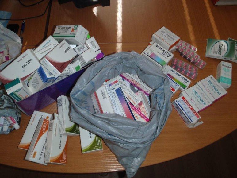 Nelegaliai pardavinėjami vaistai