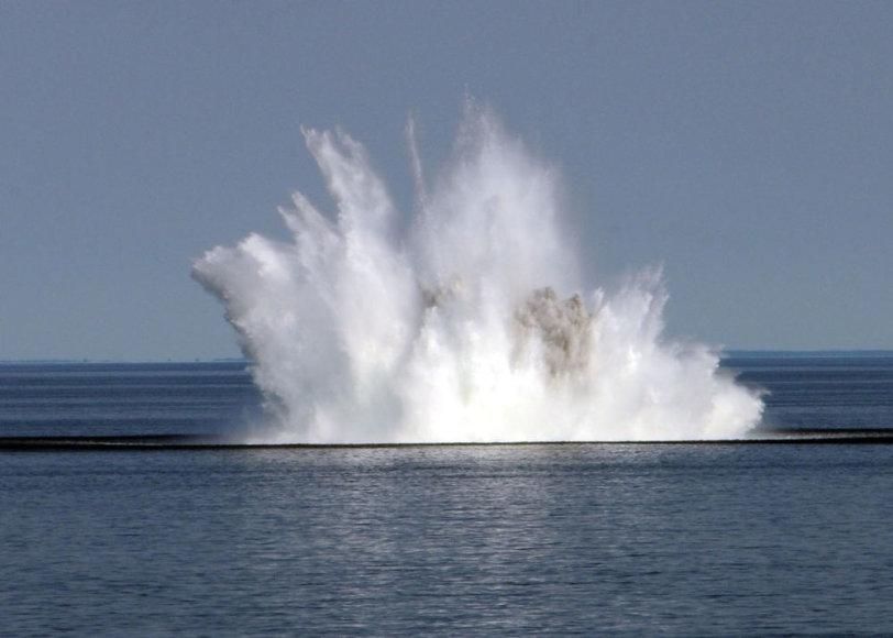 Povandeninės minos sunaikinimas