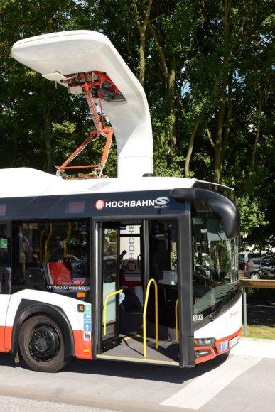 """""""Siemens"""" nuotr./Įkrovimo stotelė autobusams"""