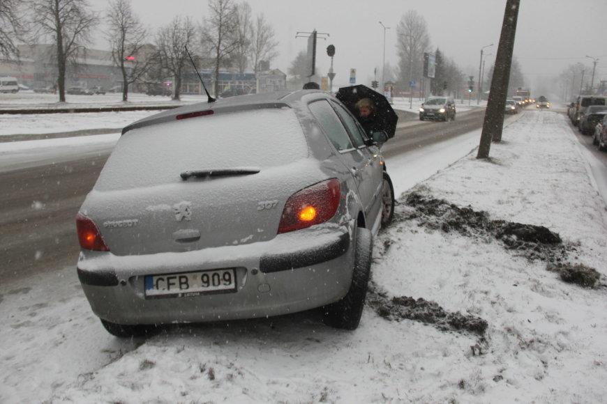 Tomo Markelevičiaus nuotr./Įvykio vietoje