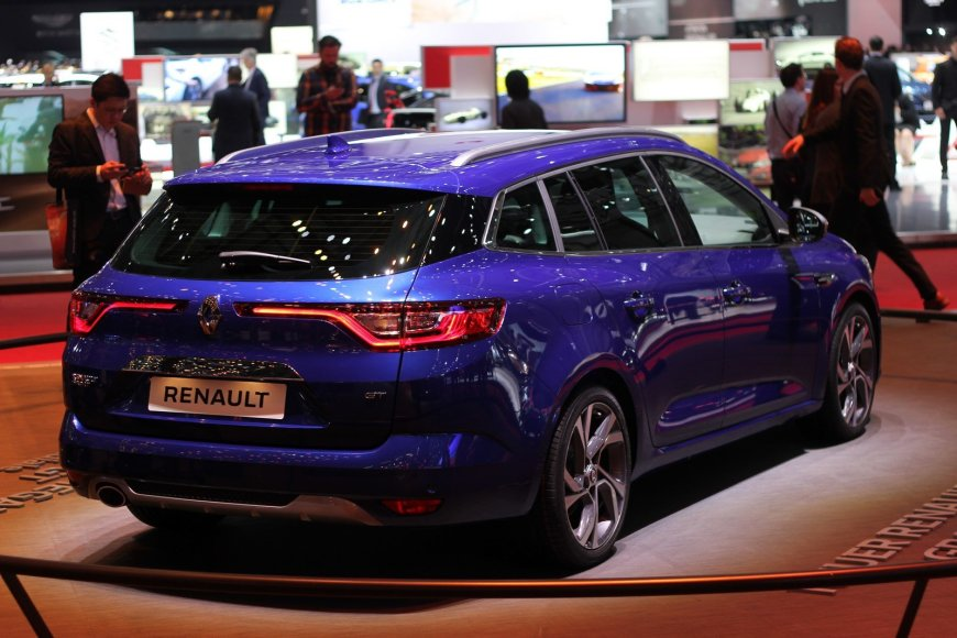 """Tomo Markelevičiaus nuotr./""""Renault Megane Tourer"""""""