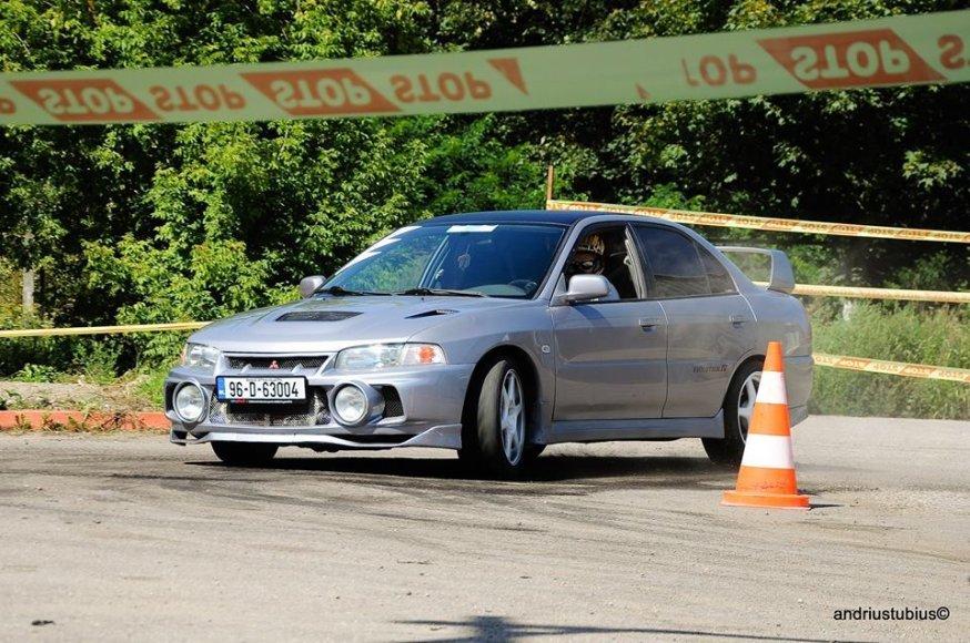 """Andriaus Tubiaus /  """"Subaru"""" klubo nuotr./Varžybų akimirka"""