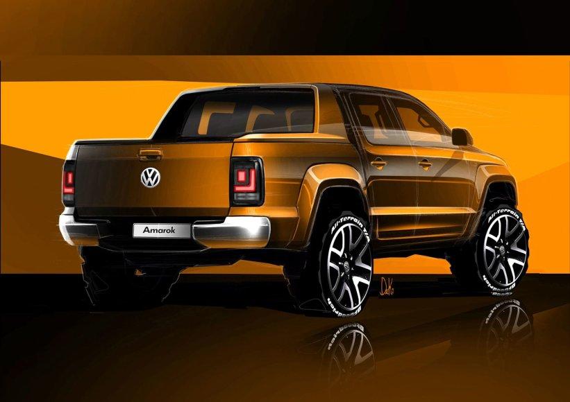 """""""Volkswagen"""" nuotr./""""Volkswagen Amarok"""""""