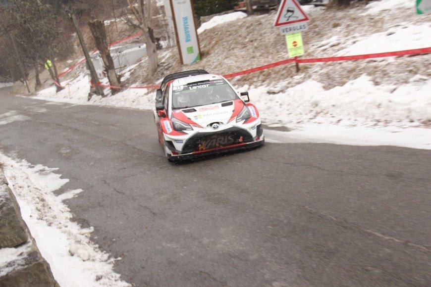 Tomo Markelevičiaus nuotr./WRC Monte Karlo etapas