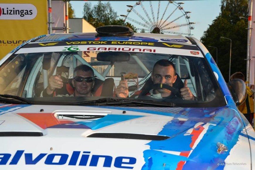 DHL Rally Elektrėnai archyvo nuotr./Žilvinas Sakalauskas