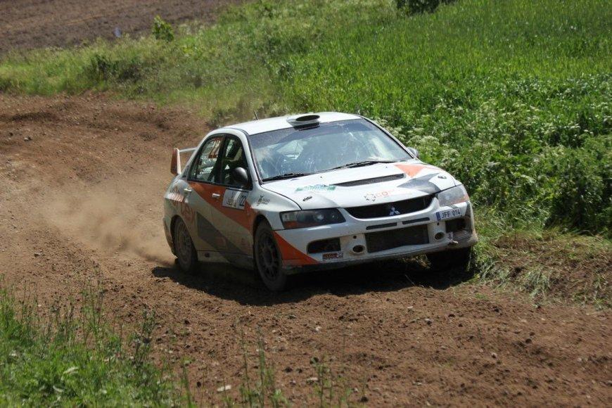 """Tomo Markelevičiaus nuotr./Septintasis """"Rally Žemaitija"""" greičio ruožas"""