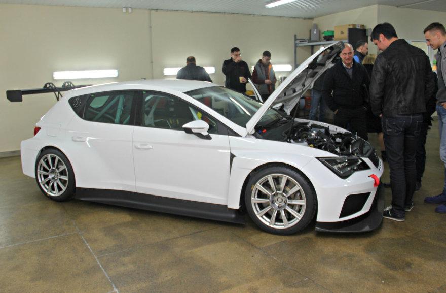 """Tomo Markelevičiaus nuotr./""""Seat Leon Cup Racer TCR"""" pristatymas"""