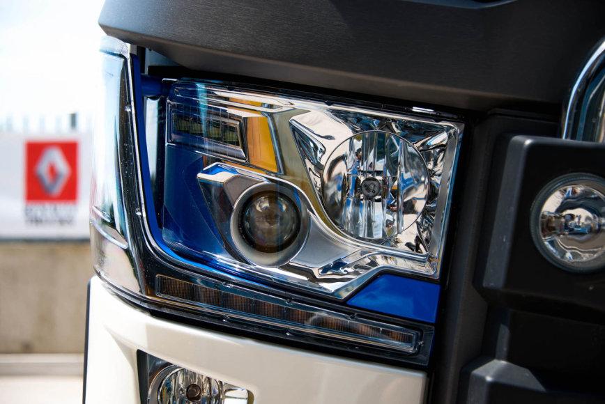 """""""Renault""""nuotr./""""T High Edition – Team Alpine"""" sunkvežimis"""