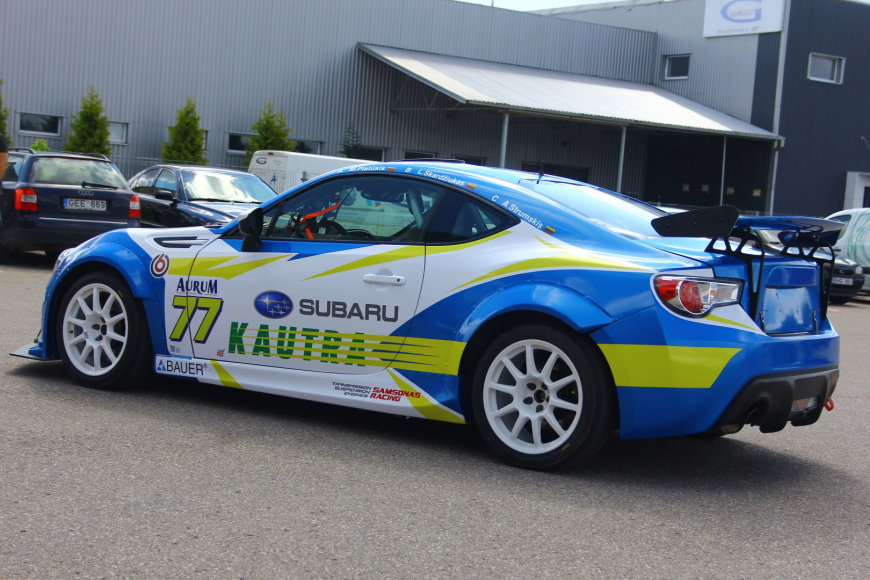 """Tomo Markelevičiaus nuotr./""""Subaru BRZ"""""""