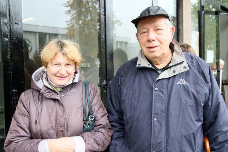 Alvydo Januševičiaus nuotr./Aldona ir Algimantas – už pastovumą